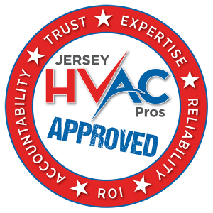 Jersey HVAC Pros Approved Seal Logo, A Whole New Degree of Commercial HVAC